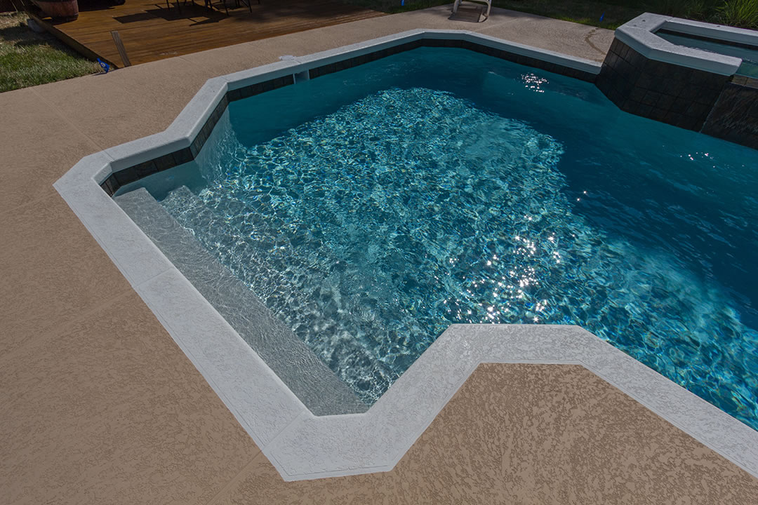 Touch of Glass Aqua Cool