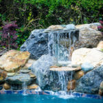 Pool Rock Water Feature
